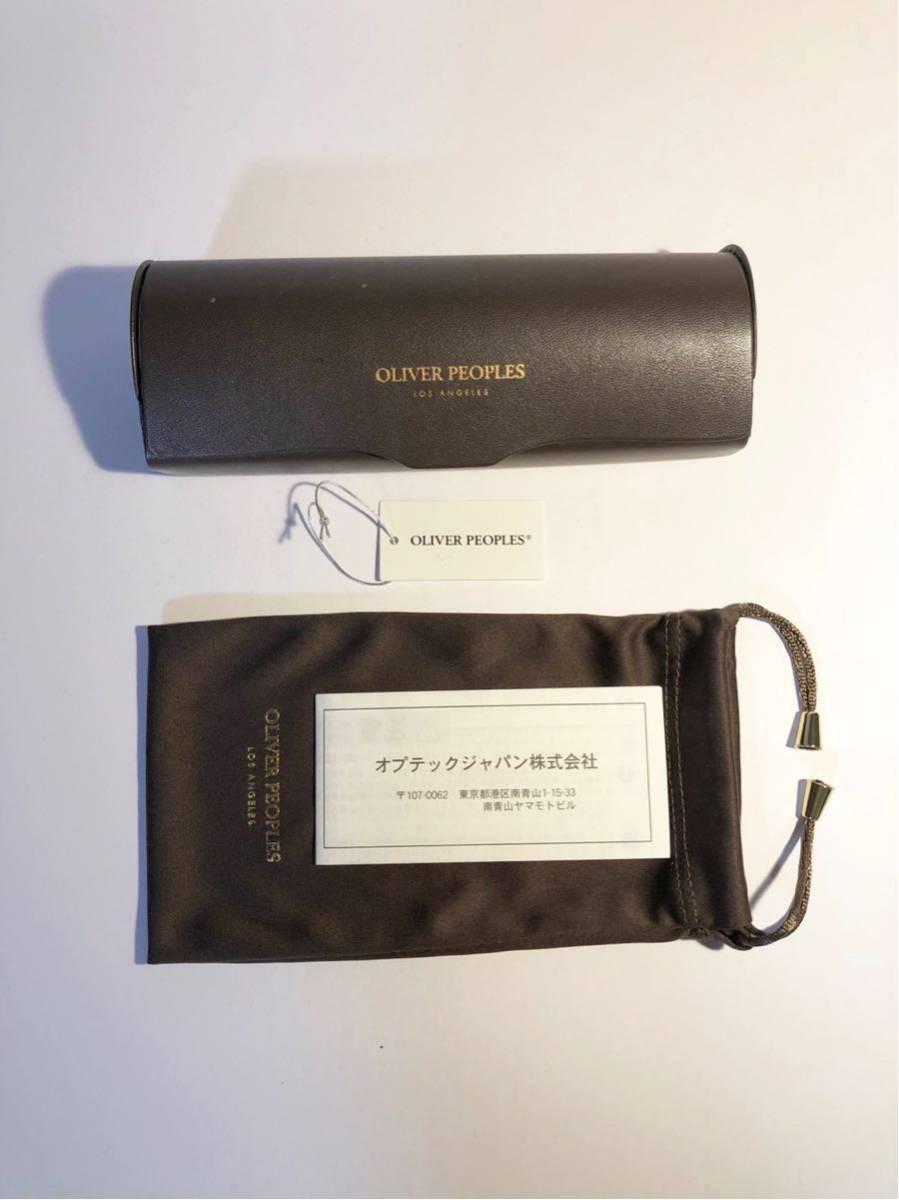 美品 正規OLIVER PEOPLEオリバーピープルズ OP-505 DM Limited Edition 雅 デミブラウン ボストン メガネ 丸眼鏡_画像2