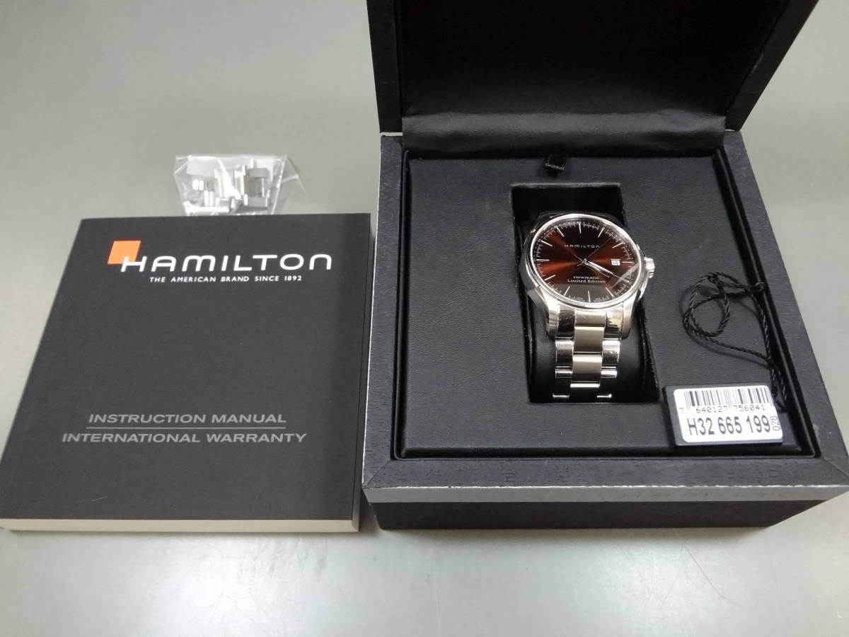 ハミルトン HAMILTON ジャズマスター ビューマチック リミテッドエディション H326650