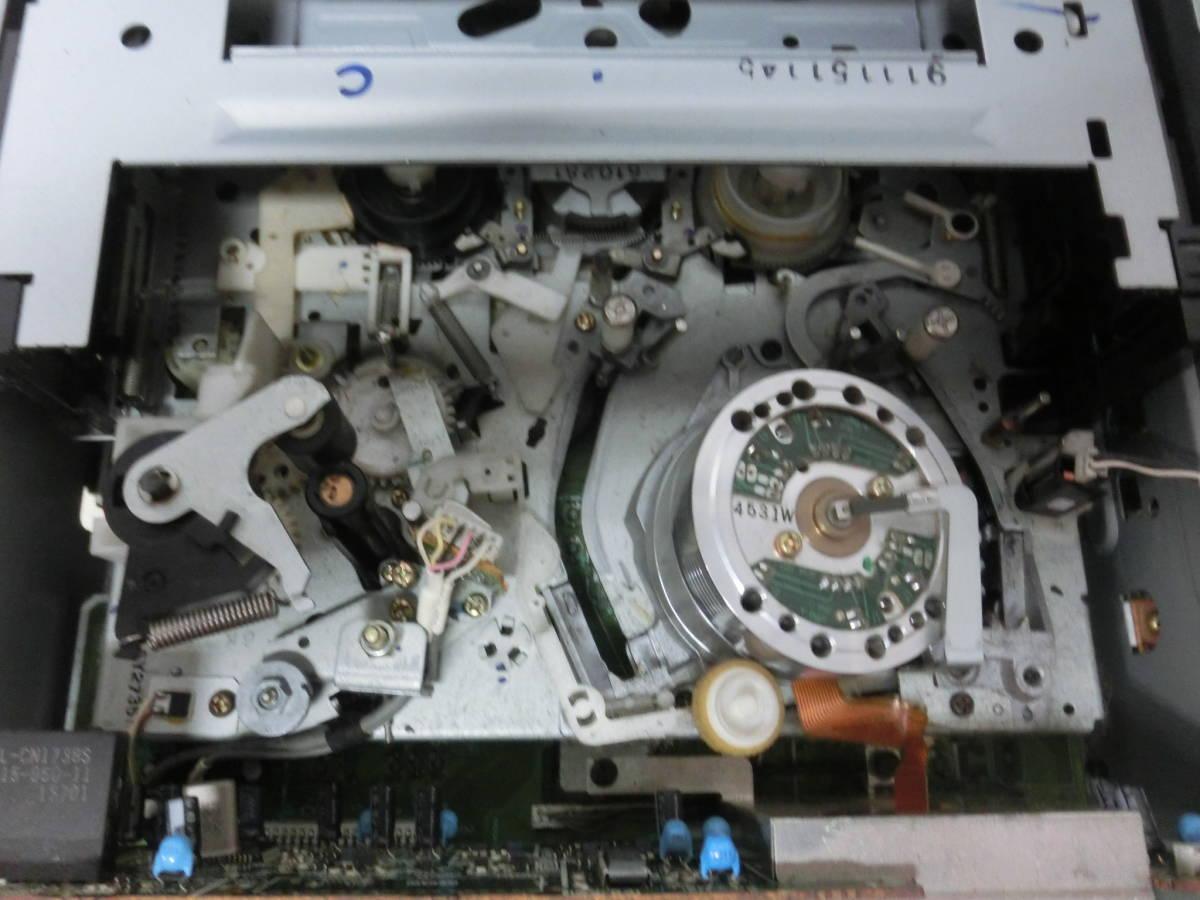 SONY ソニー Hi8/VHS ダブルビデオデッキ WV-H4 通電OK ジャンク品 NY3824_画像6