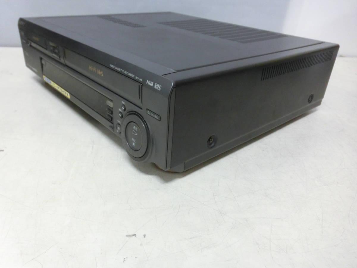 SONY ソニー Hi8/VHS ダブルビデオデッキ WV-H4 通電OK ジャンク品 NY3824_画像8