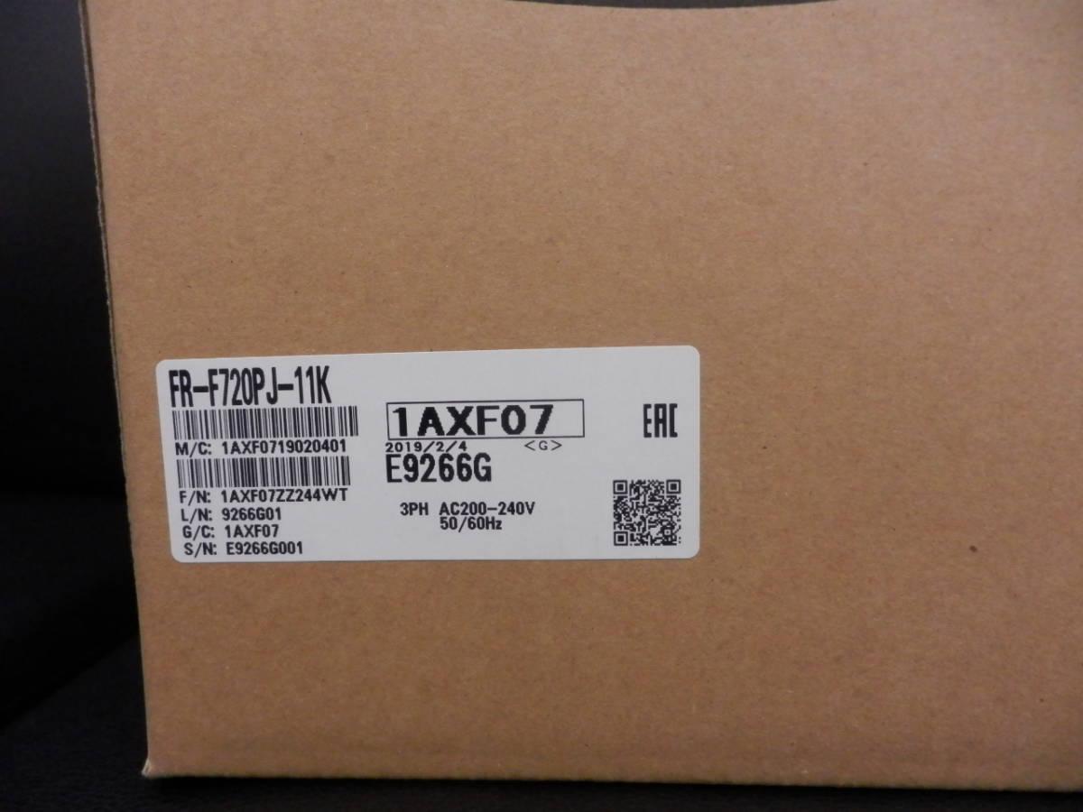 三菱電機 簡単小形 インバータ FR-F720PJ-11K 未開封、未使用_画像2