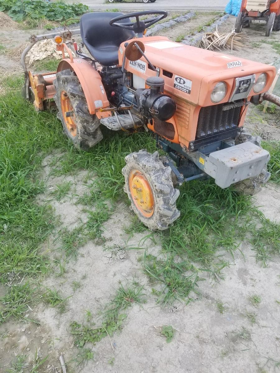 全農ZB5001トラクター4WD_画像2