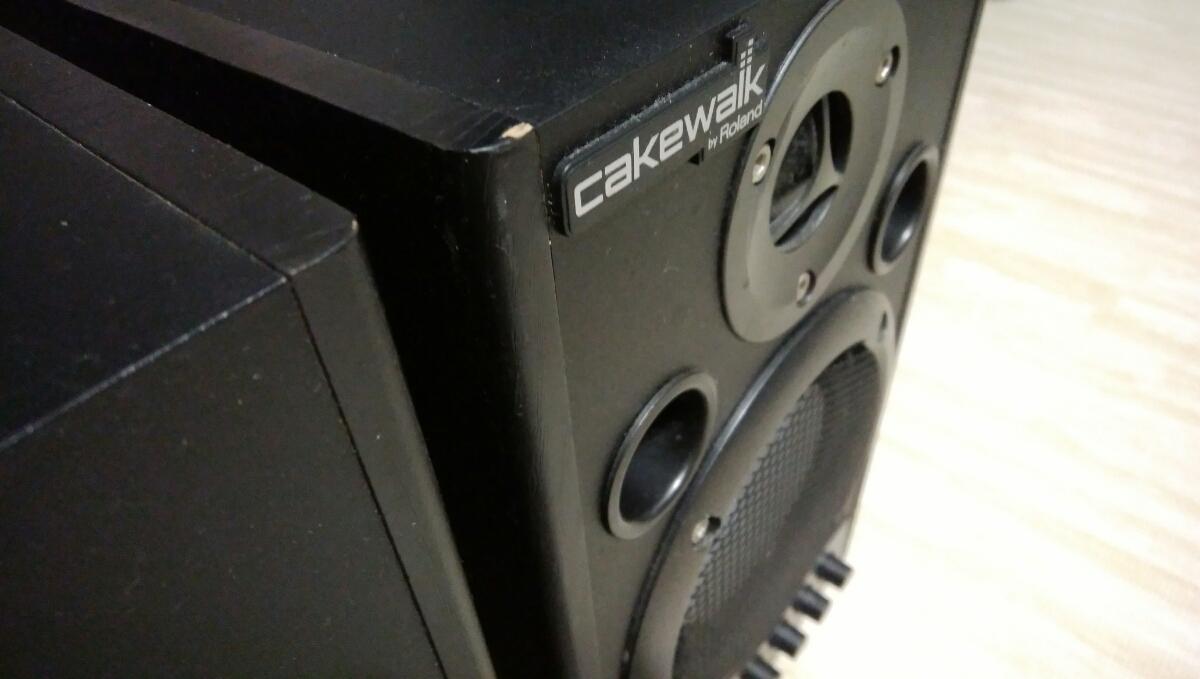 Roland MA-15D BK Stereo Micro Monitor Cakewalk ローランド エディロール ブラック スピーカー モニター_画像4