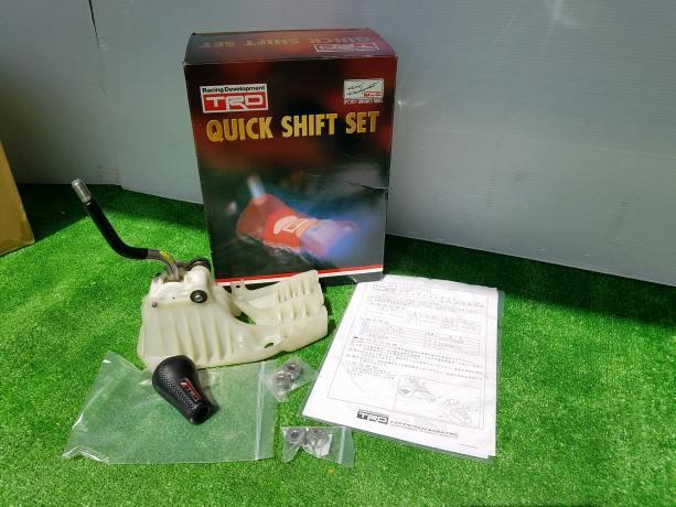 ◆絶版品◆トヨタ スターレット EP92 EP81 TRD クイック シフト 33550 EP800 F89
