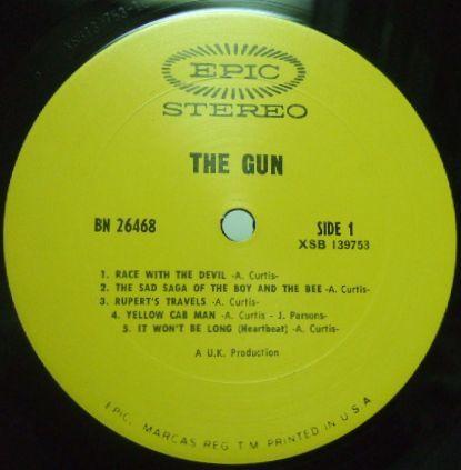 3枚で送料無料【米Epic】Gun/Gun (Adrian Gurvitz)_画像2