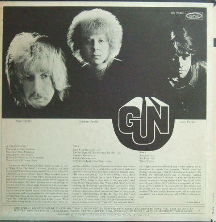 3枚で送料無料【米Epic】Gun/Gun (Adrian Gurvitz)_画像3