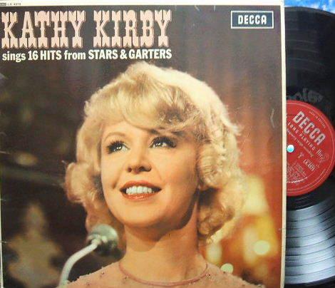 3枚で送料無料【英Decca mono】Kathy Kirby/sings 16 Hits from Stars & Garters (open Decca)_画像1