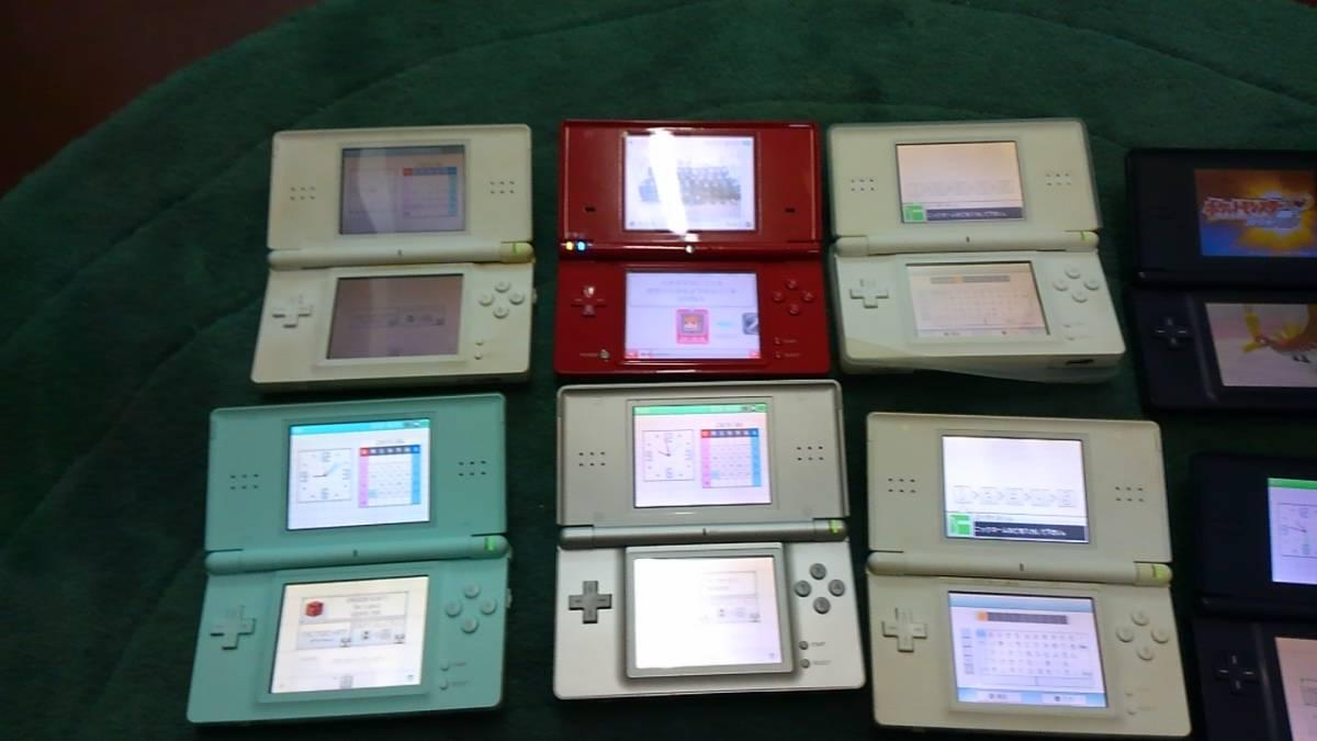 計11個 DSi/DS Lite/ DS ソフト11個()どうぶつの森/ポケットモンスター) 中古_画像3