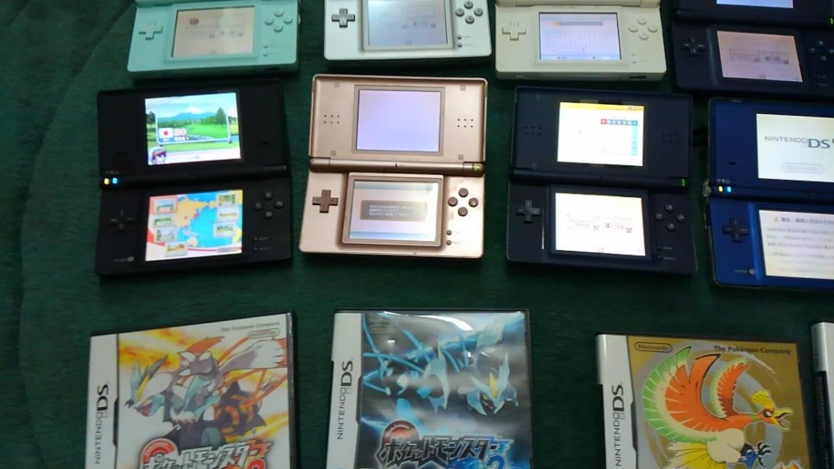 計11個 DSi/DS Lite/ DS ソフト11個()どうぶつの森/ポケットモンスター) 中古_画像4