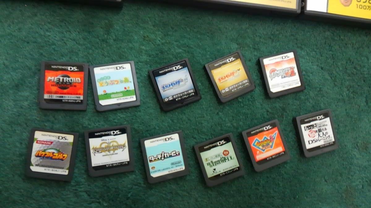 計11個 DSi/DS Lite/ DS ソフト11個()どうぶつの森/ポケットモンスター) 中古_画像9