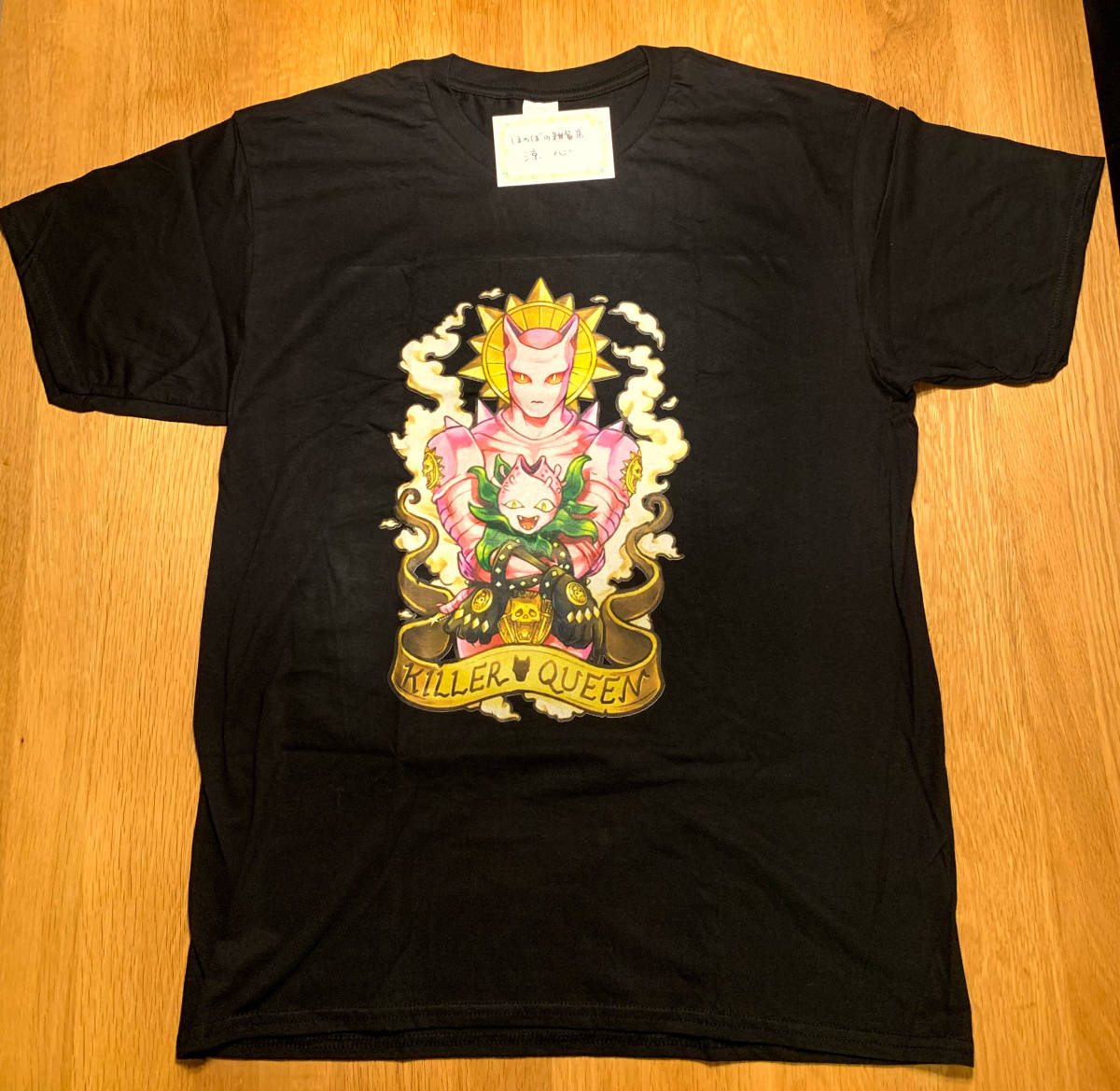 吉良吉影 / キラークイーンTシャツ サイズL  ジョジョの奇妙な冒険_画像3