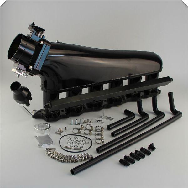RB26DETT 大容量 アルミサージタンクキット スロットルボディデリバリーパイプ付き! R32 R33 R34 BCNR33 BNR32 エキマニ BNR34 マフラー_画像1