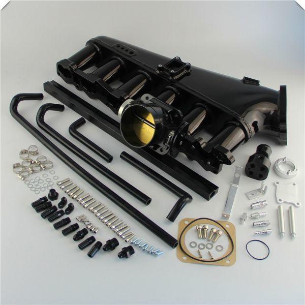 RB26DETT 大容量 アルミサージタンクキット スロットルボディデリバリーパイプ付き! R32 R33 R34 BCNR33 BNR32 エキマニ BNR34 マフラー_画像2