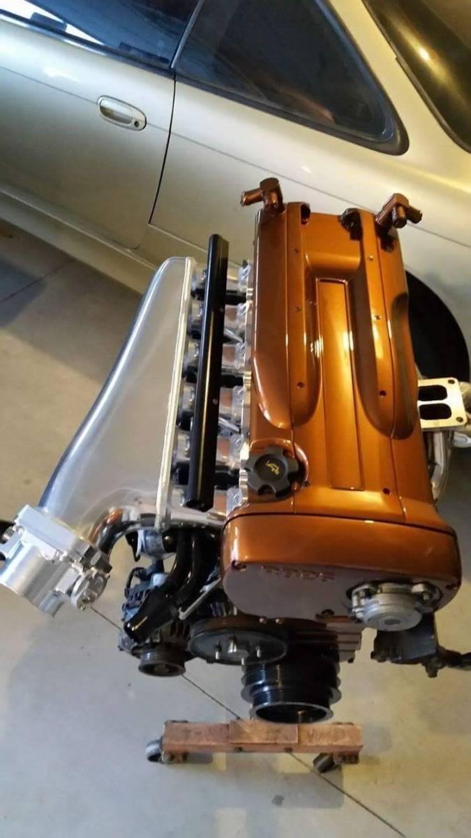 RB26DETT 大容量 アルミサージタンクキット スロットルボディデリバリーパイプ付き! R32 R33 R34 BCNR33 BNR32 エキマニ BNR34 マフラー_画像8