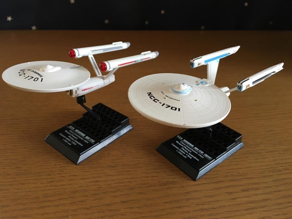 スタートレック・フリートコレクション1 NCC-1701、NCC-1701(改)