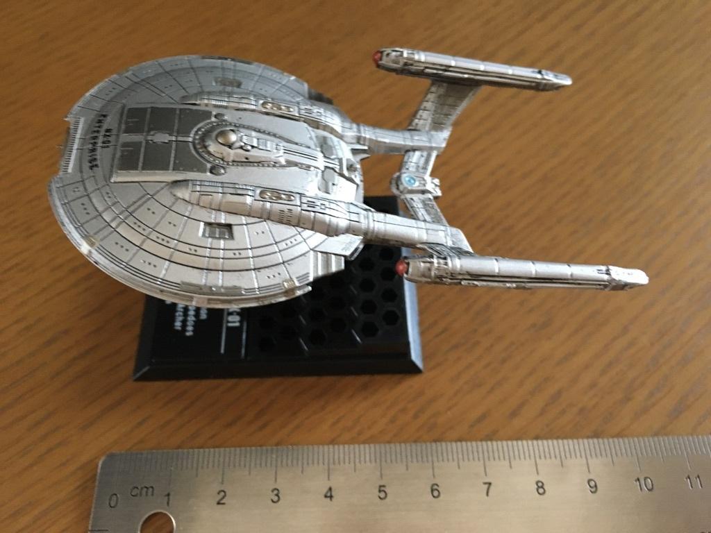 スタートレック・フリートコレクション1 NCC-1701、NX-01_画像8