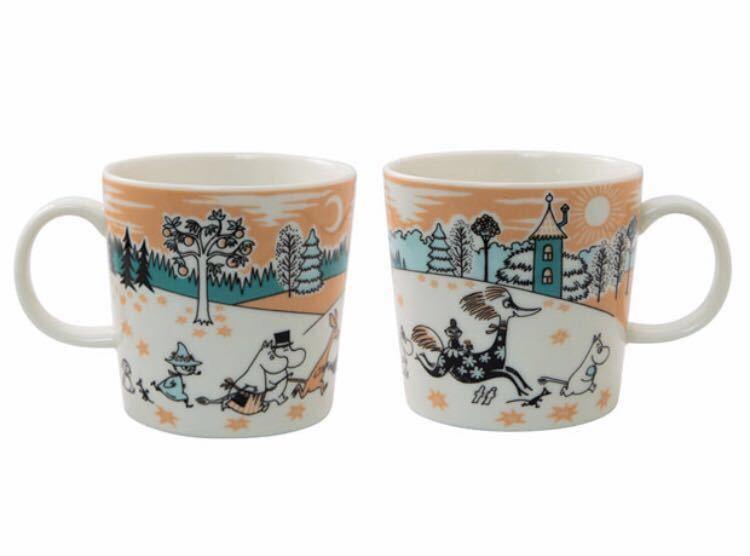★ ムーミンバレーパーク限定 マグカップ 4個セット The special Arabia Moominvalley Park mug マグ アラビア社製_画像2