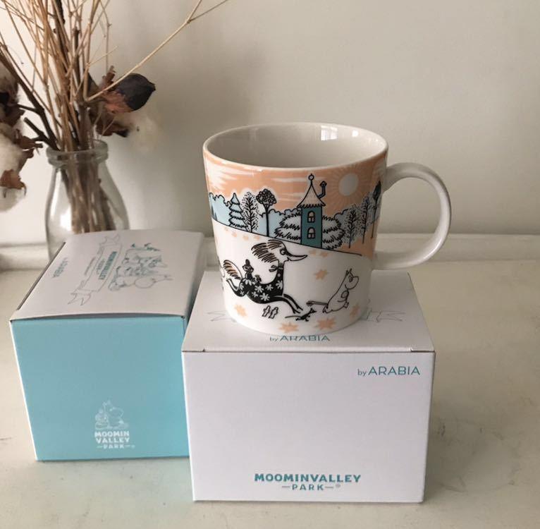 ★ ムーミンバレーパーク限定 マグカップ 2個セット ★ The special Arabia Moominvalley Park mug マグ アラビア社製 ★_画像2