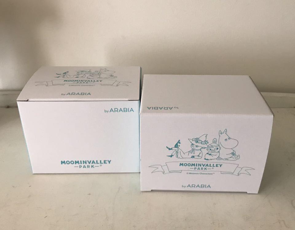 ★ ムーミンバレーパーク限定 マグカップ 4個セット The special Arabia Moominvalley Park mug マグ アラビア社製_画像4
