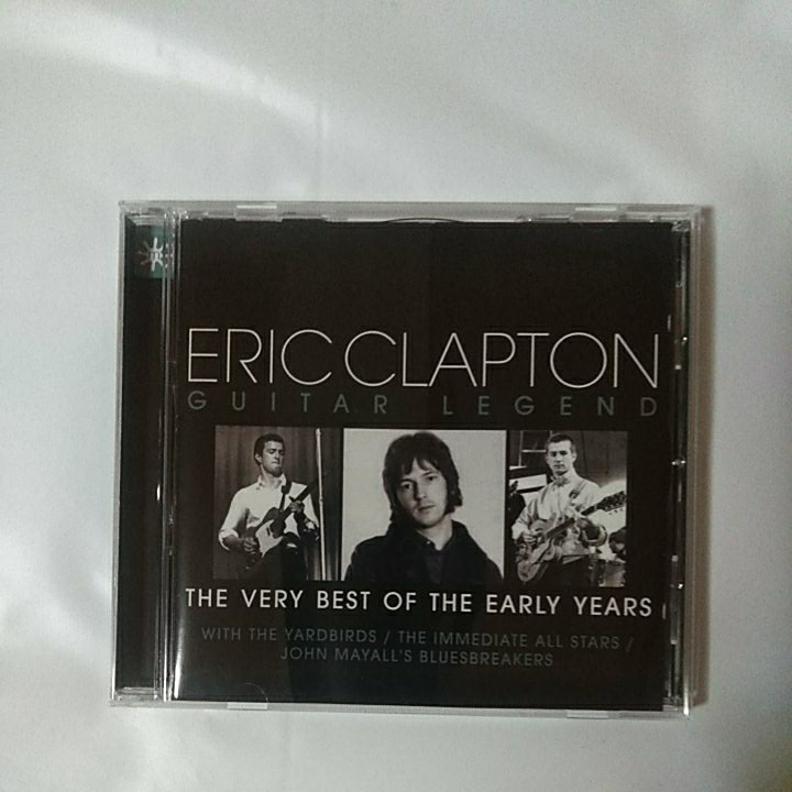 ERIC CLAPTON /GUITAR LEGEND 輸入盤 THE BEST OF THE EARLY YEARS_画像1