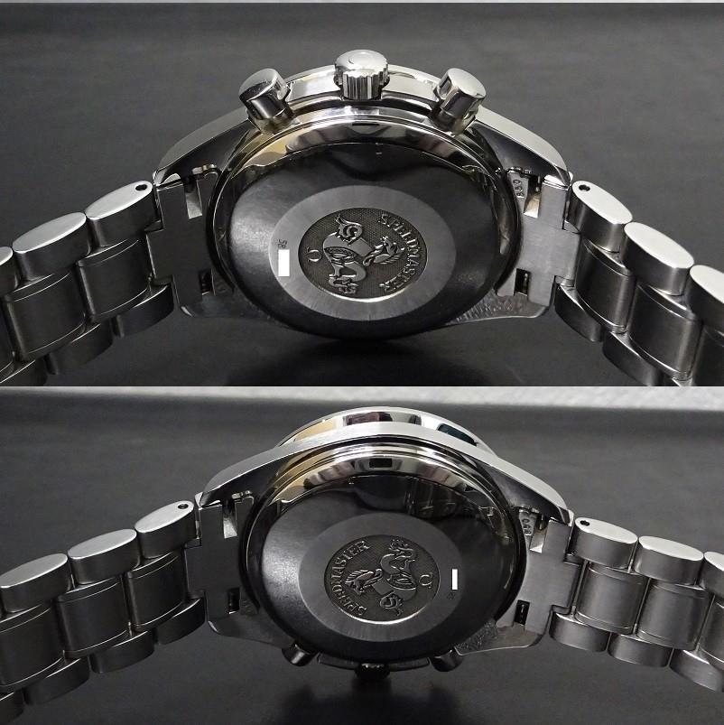 希少 日本限定モデル OMEGA SPEEDMASTER オメガ スピードマスター 3513.52 黒文字盤 メンズサイズ 自動巻 アラビア数字 本物_画像6