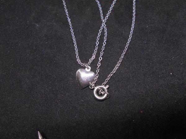 JewelryNO.A49 35CM ハート 2g 1CM ネックレス イヤリング ブレスレット ペンダントヘッド ブレスレット_画像2