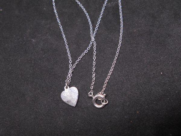 JewelryNO.A49 35CM ハート 2g 1CM ネックレス イヤリング ブレスレット ペンダントヘッド ブレスレット_画像3