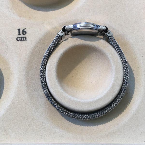 シチズン CITIZEN EXCEED エクシード レディース 腕時計 クォーツ 3針 婦人 時計 シルバー色 中古 当時物 /S387_画像8