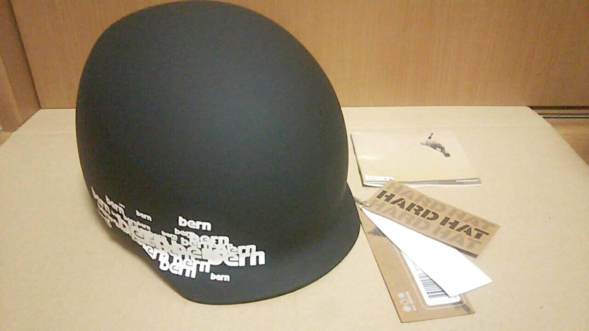 未使用 bern baker XL 59-60.5センチ ブラック ヘルメット スノボー スケボー_画像1