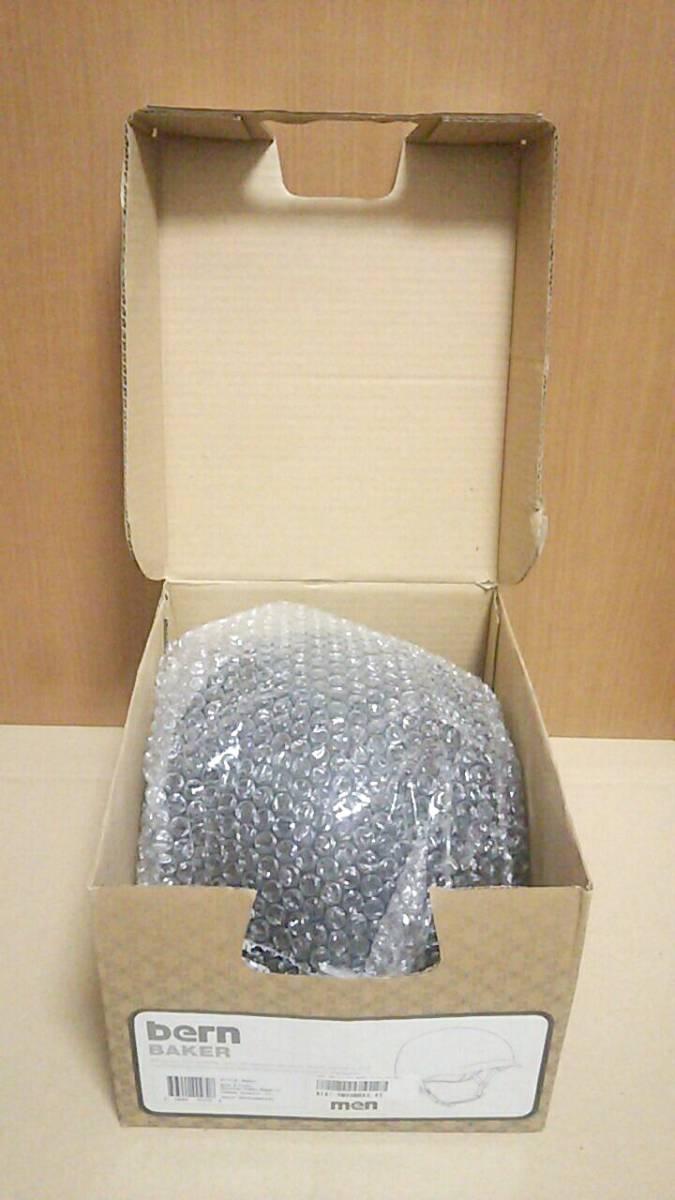 未使用 bern baker XL 59-60.5センチ ブラック ヘルメット スノボー スケボー_画像3