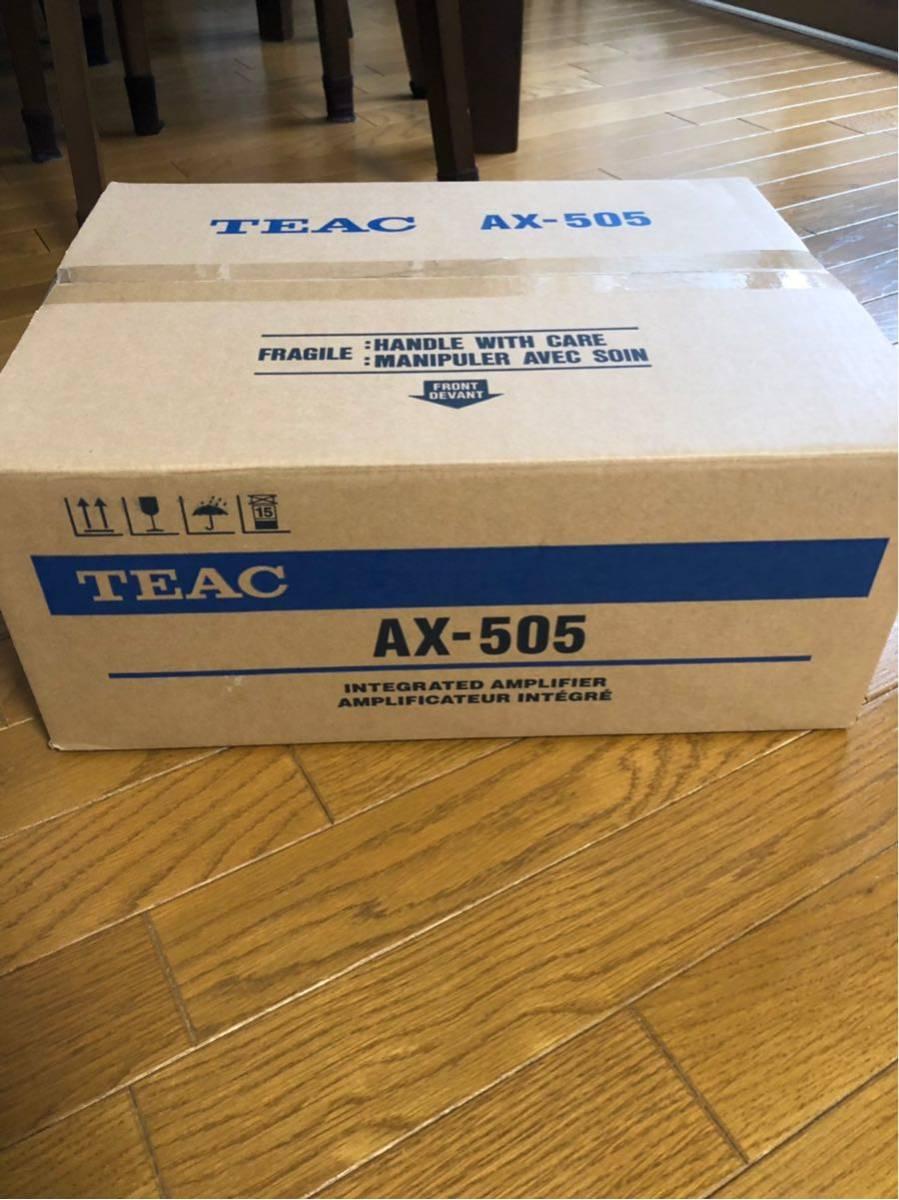 TEAC ステレオプリメインアンプ AX-505 シルバー 新品未使用品 ティアック