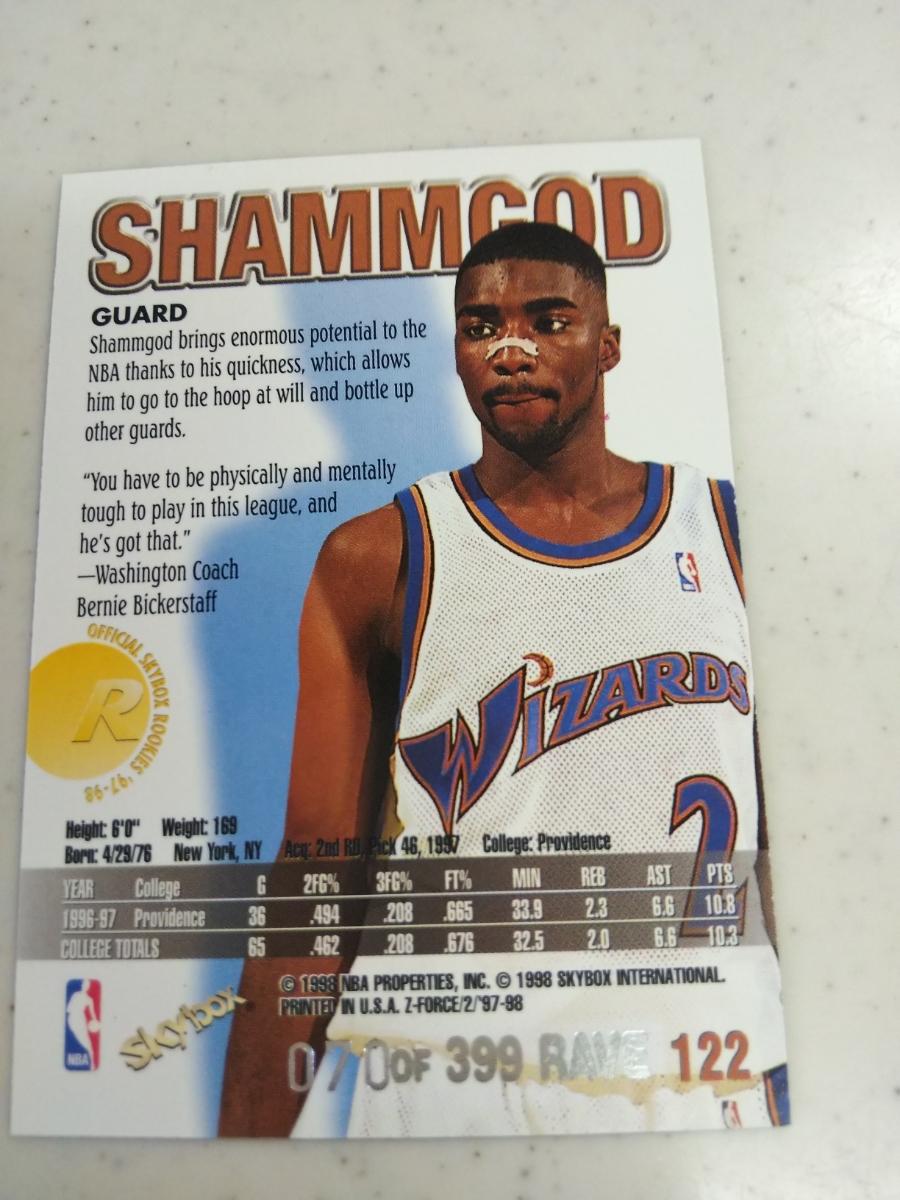 newest 911db 0dd4b 代購代標第一品牌- 樂淘letao - NBA 97-98 Zforce RAVE #/399 ...