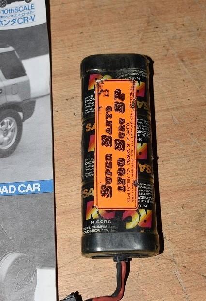 120/4B49★ジャンク タミヤ 1/10 電動RC ラジコン ホンダ CR-V サンワ プロポ TM-1170 セット_画像10
