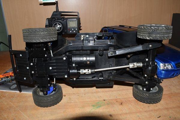 120/4B49★ジャンク タミヤ 1/10 電動RC ラジコン ホンダ CR-V サンワ プロポ TM-1170 セット_画像6