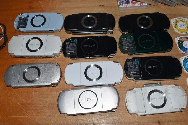 80/5C25★ジャンク PSP 本体 PSP-1000 2000 3000 ソフト まとめて大量セット_画像5