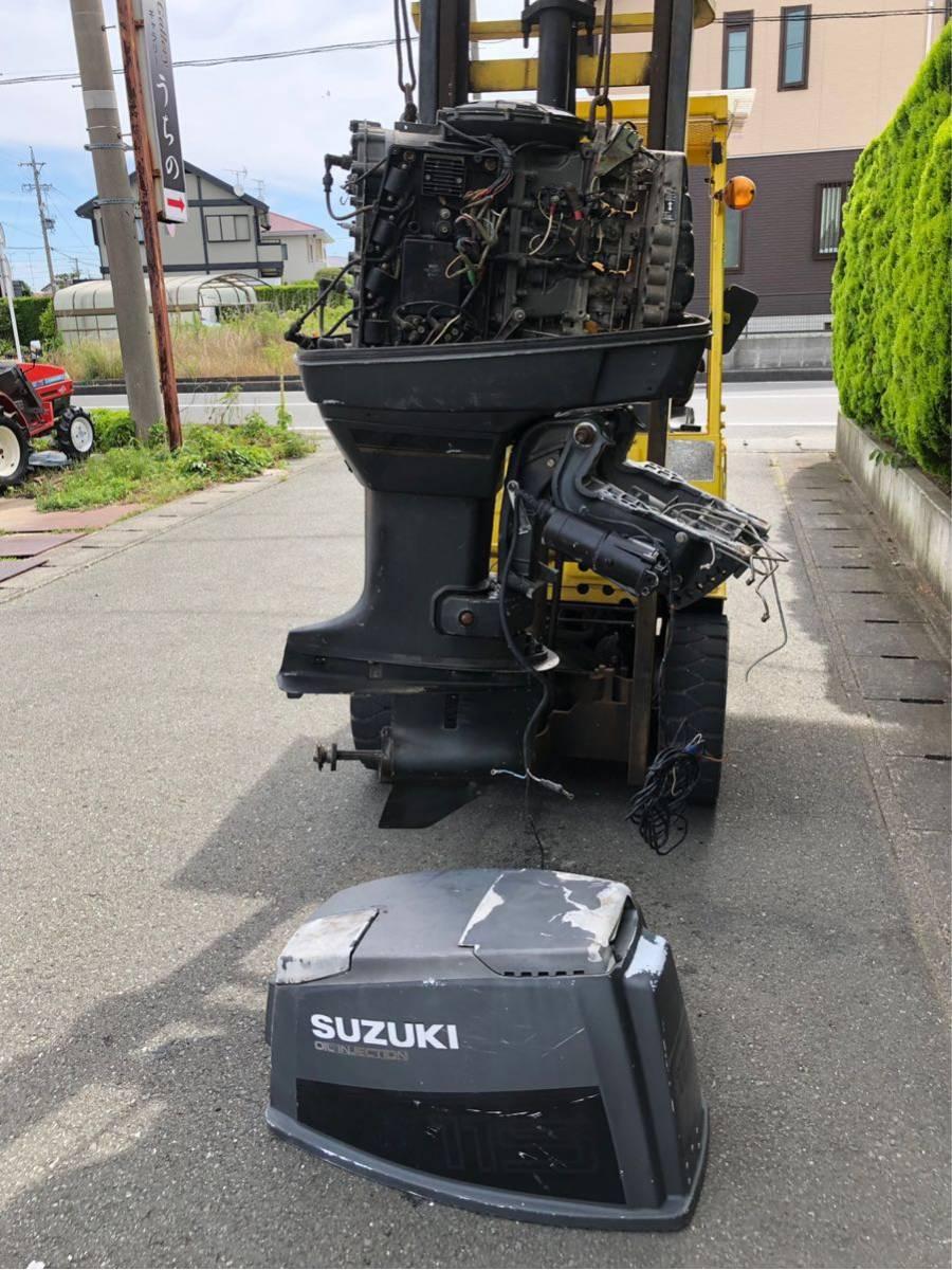 磐田市発 スズキ SUZUKI 船外機 DT115 スズキ ジャンク です。