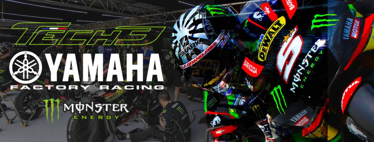 正規品★【Monster Tech3 YAMAHA】motoGP オフィシャル 公式モデル ポロシャツ 【L】本物(検 ZARCO 5 Super Bike 55 Yamaha Racing M1)_画像10