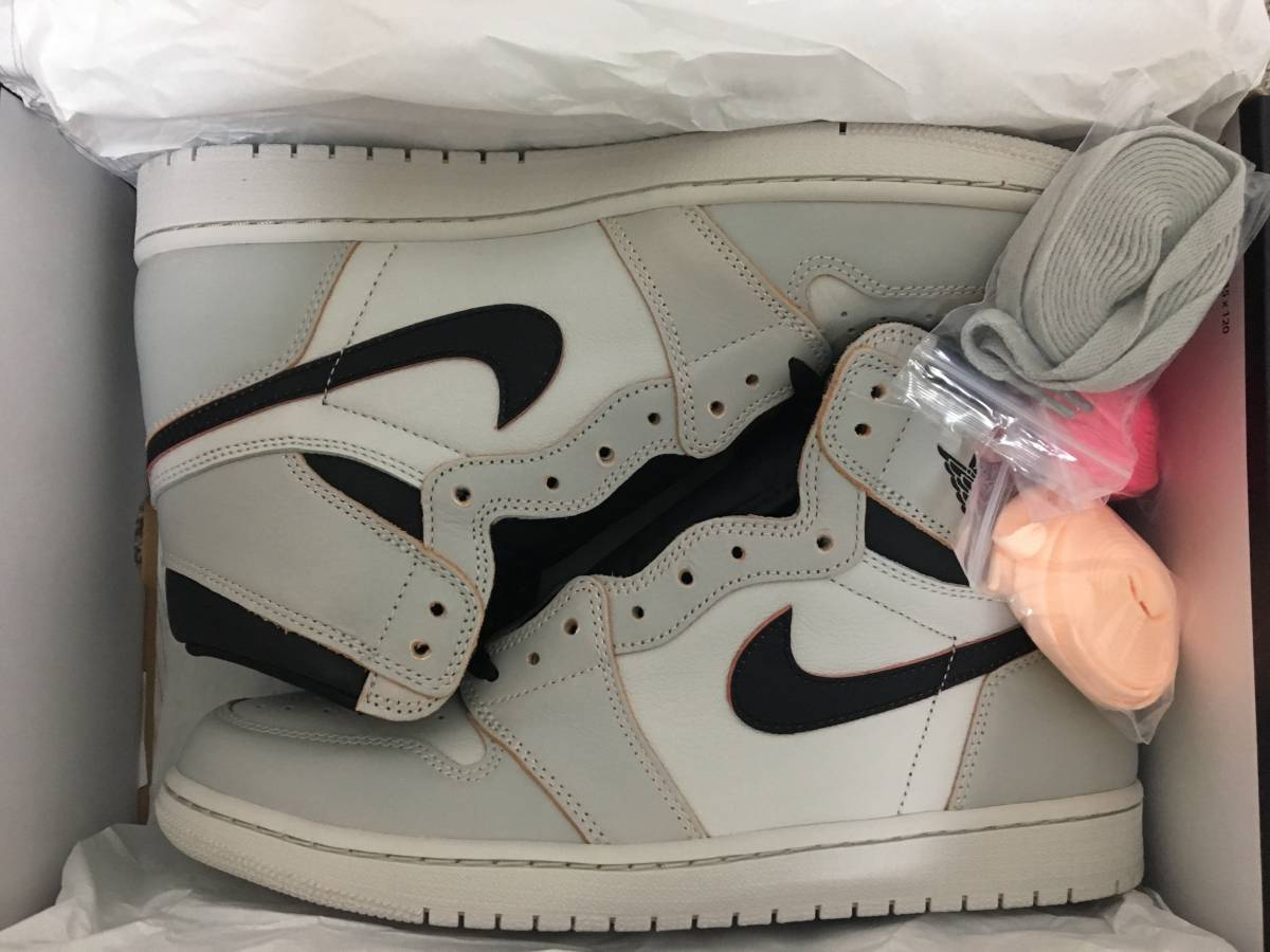 NIKE SB AIR JORDAN 1 HIGH OG DEFIANT NYC TO PARIS US11 29.0cm LIGHT BONE_画像4