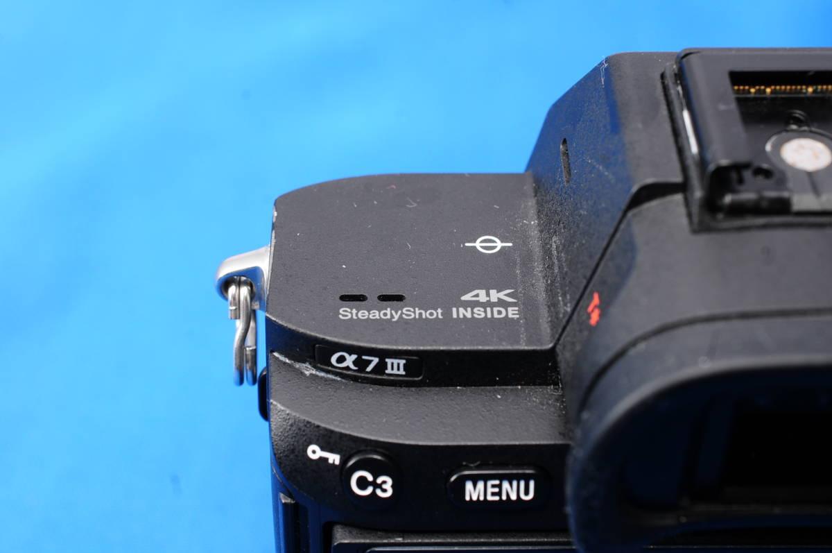 L10J SONY α7 III ILCE-7M3 ボディ ソニー_画像5