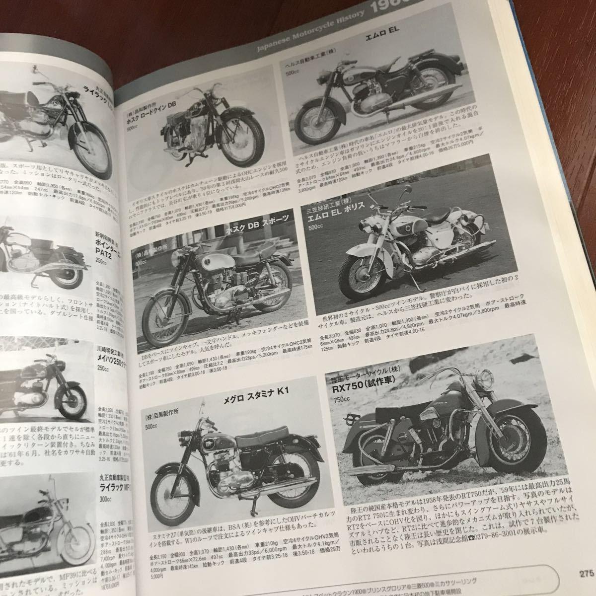 日本モーターサイクル史 1945~2007 八重洲出版創立50周年記念企画 希少 バイク 貴重 レア 即決あり_画像3