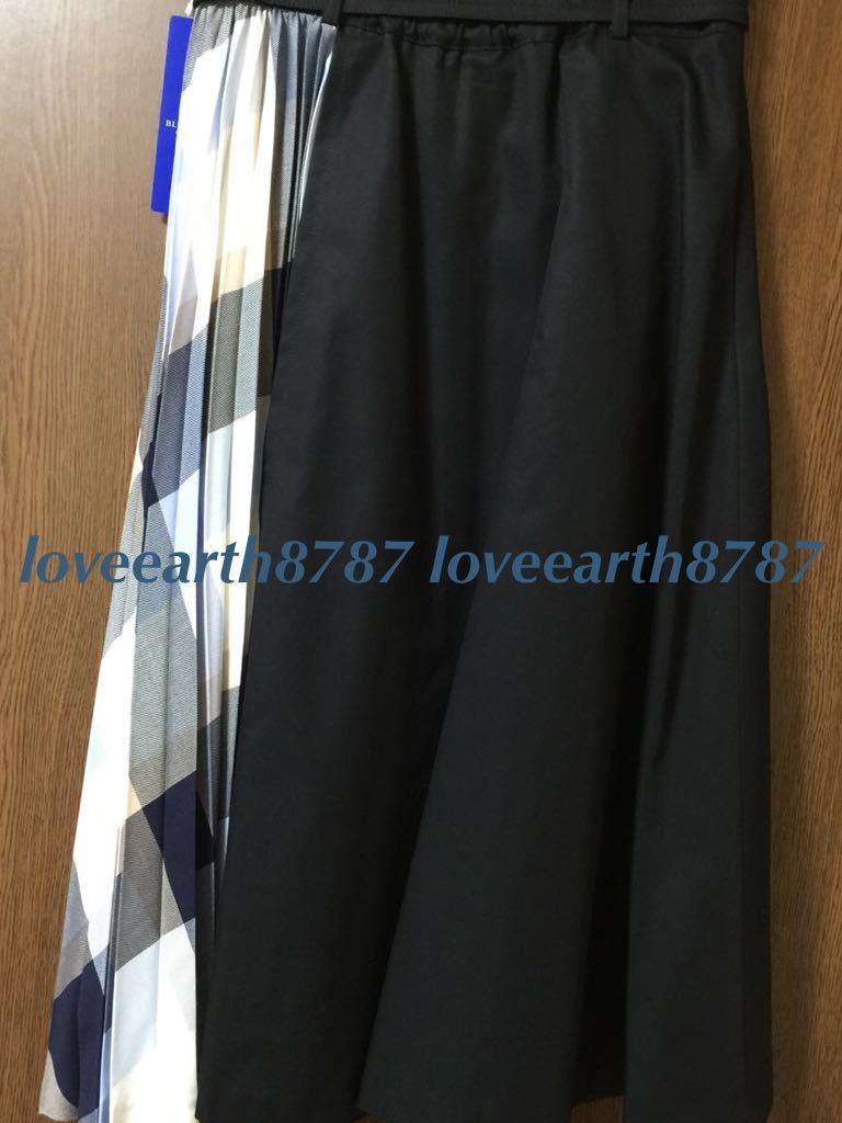 新品タグ付★ブルーレーベルクレストブリッジ★コンビスカート★ネイビー_画像4
