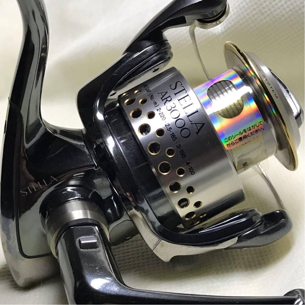 シマノ SHIMANO 01ステラAR 01STELLA AR 3000 未使用品! _画像3