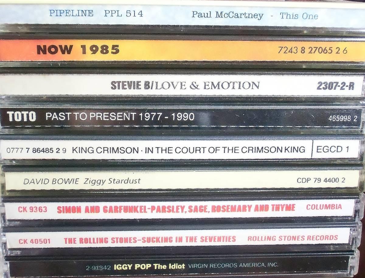 70s 80s Rock、Pops中心 CD100枚 セット タイトル詳細有 大量 AORなど_画像3