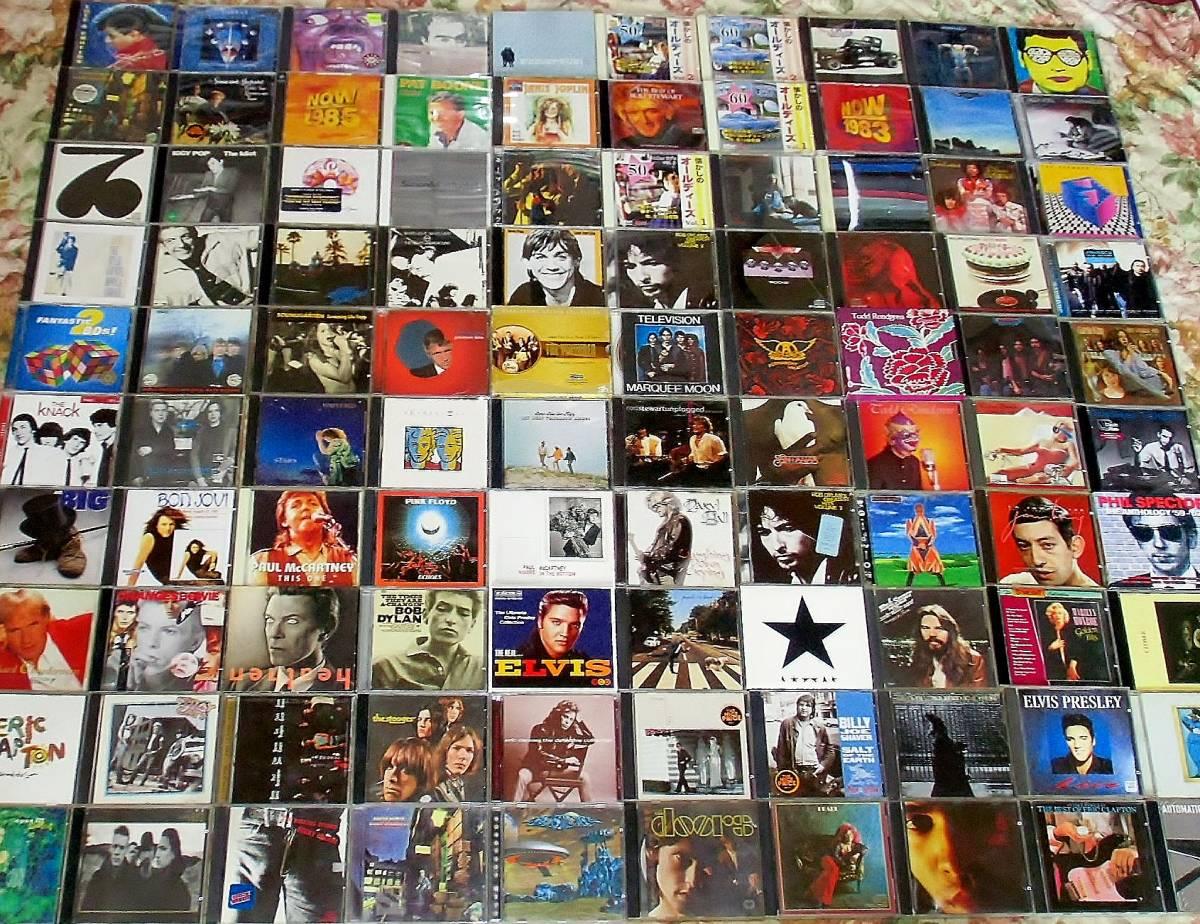 70s 80s Rock、Pops中心 CD100枚 セット タイトル詳細有 大量 AORなど
