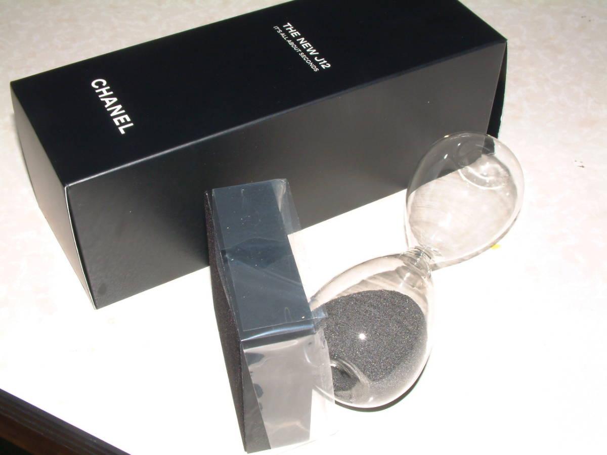 ■シャネルJ12モデル砂時計■未使用非売品■CHANEL_画像6