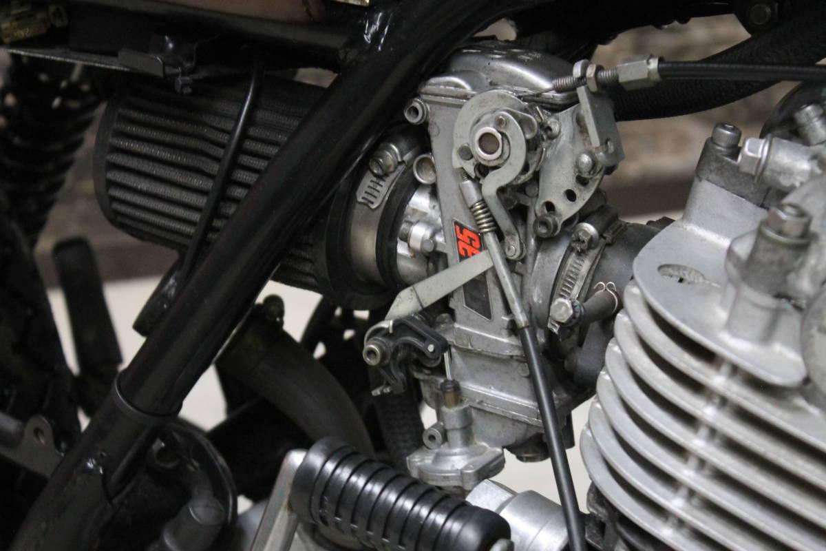 go my way SR400 スクランブラー ビンテージ オフロード VMX トライアンフ ブラット トラッカー グリーン FCR XL GT ZXCV19131_画像4