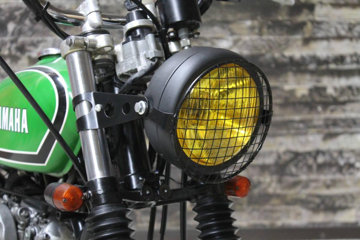 go my way SR400 スクランブラー ビンテージ オフロード VMX トライアンフ ブラット トラッカー グリーン FCR XL GT ZXCV19131_画像7