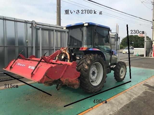 ★☆イセキ AT50 4WD 50馬力 中古トラクター☆★_画像2