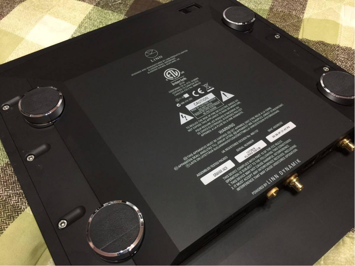 LINN KLIMAX DS/1/Bブラック ネットワークプレイヤー リン 「美品」_画像2