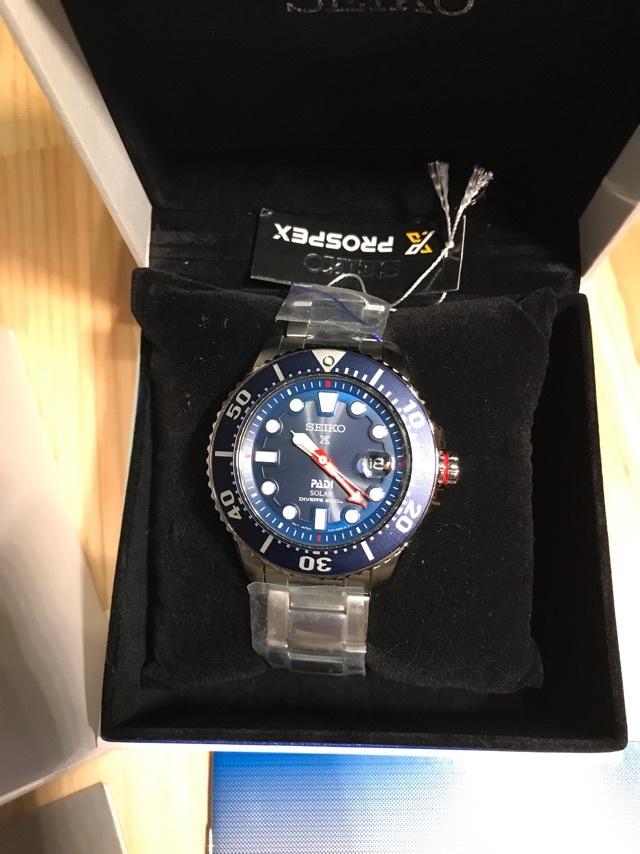 1円~セイコー SEIKO プロスペックス PROSPEX PADI パディコラボ ソーラー ダイバーズ メンズ 腕時計 限定モデル_画像3